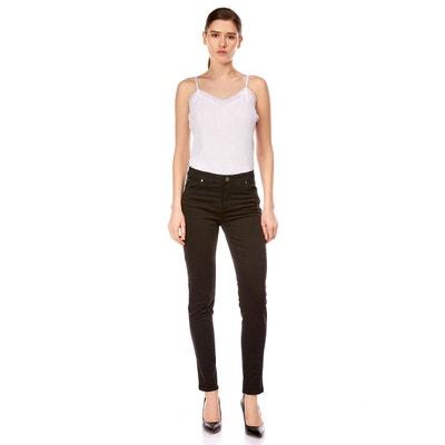 cc279e2b43e54 Pantalon slim taille haute stretch Pantalon slim taille haute stretch BEST  MOUNTAIN