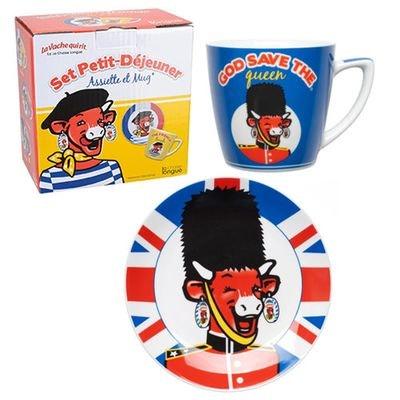 Set petit déjeuner La Vache qui rit British LA CHAISE LONGUE