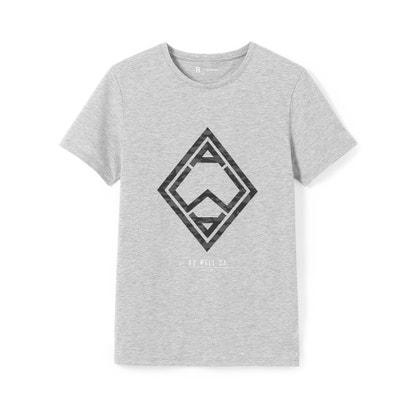 T-shirt com gola redonda, impressão geométrica T-shirt com gola redonda, impressão geométrica La Redoute Collections