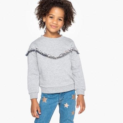 Bluza z moltonu z frędzlami 3-12 lat Bluza z moltonu z frędzlami 3-12 lat La Redoute Collections