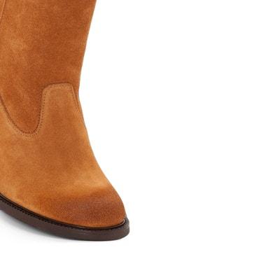 74351 Hartville Sud Heeled Leather Boots P-L-D-M-BY PALLADIUM