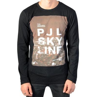 Tee Shirt A Manche Longue Enfant Jemeson JR Black Tee Shirt A Manche Longue  Enfant Jemeson. Soldes. PEPE JEANS ddd837de9624