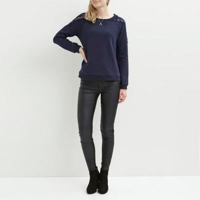 Lace Detail Sweatshirt VILA