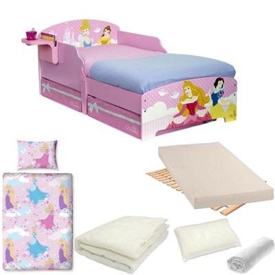 pack complet lit princesse tiroirs disney litmatelas parurecouetteoreiller - Lit De Princesse
