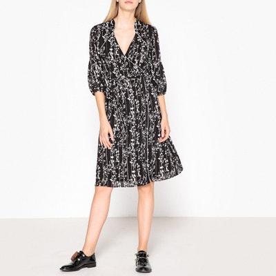 Folia Printed Wrapover Dress BA&SH