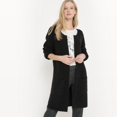 Long Stranded Knit Merino Cardigan Long Stranded Knit Merino Cardigan La Redoute Collections