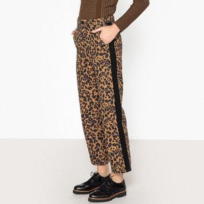Jean large motif léopard PHIL Jean large motif léopard PHIL LEON AND HARPER