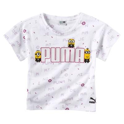 d75cb0b5dbf7e T-Shirt PUMA x MINIONS pour fille T-Shirt PUMA x MINIONS pour fille