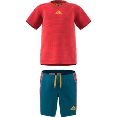 Ensemble tee-shirt + short 3 mois - 4 ans adidas Originals