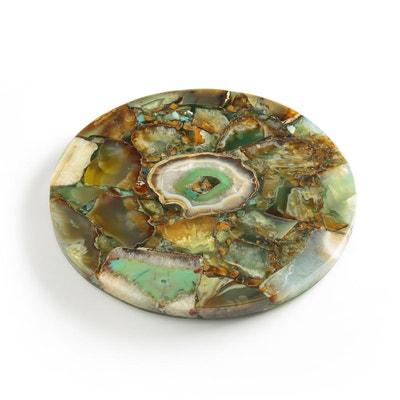 Dessous de plat pierre d'agate, Agate Dessous de plat pierre d'agate, Agate AM.PM