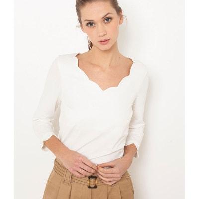 Tee shirt manche courte femme Camaieu en solde   La Redoute 53aa79e86974