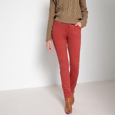 Pantalon droit, taille élastiquée Pantalon droit, taille élastiquée ANNE WEYBURN