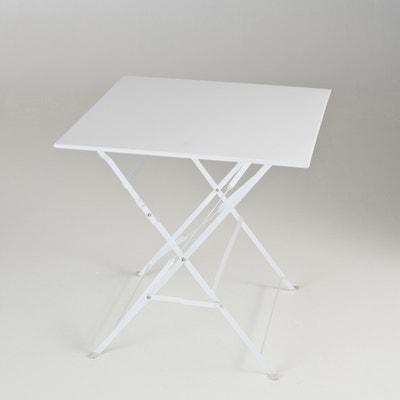 Table pliante carrée, métal OZEVAN Table pliante carrée, métal OZEVAN La Redoute Interieurs
