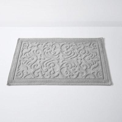 Tapis de bain, DAMASK, motif en relief, coton (150 La Redoute Interieurs