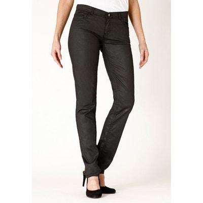 Jeans slim stretch enduit LADY RICA LEWIS