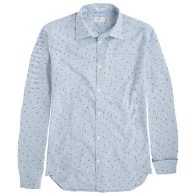 Camisa estampada Darrick con corte slim de algodón PEPE JEANS