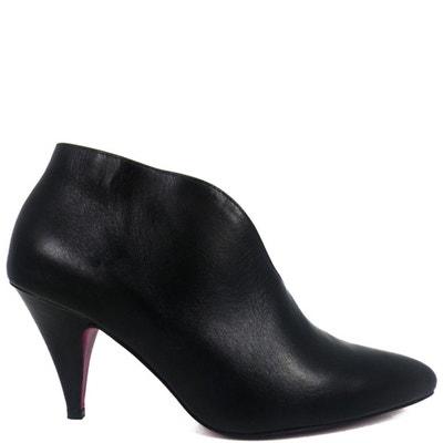 Chaussures femme en cuir NIKITA Black Chaussures femme en cuir NIKITA Black PRING  PARIS f365de986392