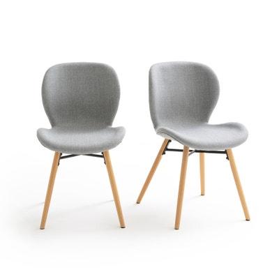 Confezione da 2 sedie design, rivestimento tessuto, CRUESO Confezione da 2 sedie design, rivestimento tessuto, CRUESO La Redoute Interieurs