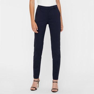 "Straight City Trousers, Length 32"" Straight City Trousers, Length 32"" VERO MODA"