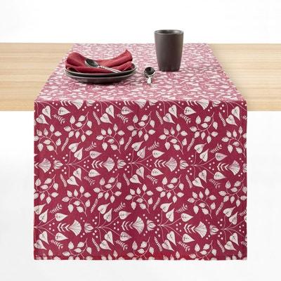 Chemin de table imprimé coton/lin ROMANE Chemin de table imprimé coton/lin ROMANE LA REDOUTE INTERIEURS