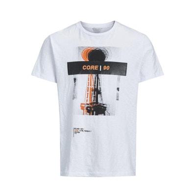 T-shirt con scollo rotondo, maniche corte JACK & JONES