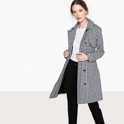 Mid-Length GinghamTrench Coat Mid-Length GinghamTrench Coat MADEMOISELLE R