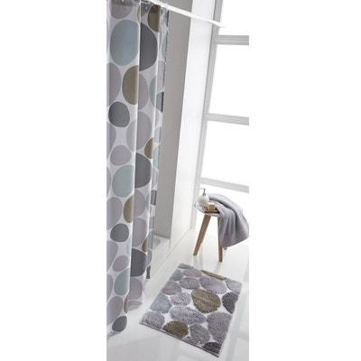 Cortina de ducha con guijarros estampados Cortina de ducha con guijarros estampados La Redoute Interieurs