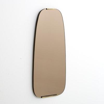 Specchio fumè e ottone H72,5cm, Dialect AM.PM.