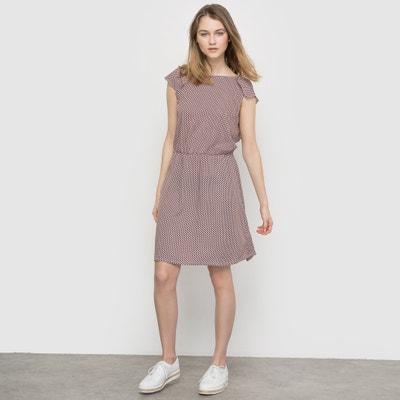 Kleid, bedruckt, Ausschnitt hinten MADEMOISELLE R