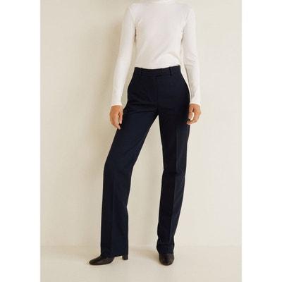 6939142810b1 Pantalon droit costume MANGO