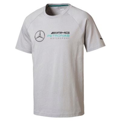 Tee shirt col rond uni, manches courtes, Mercedes PUMA