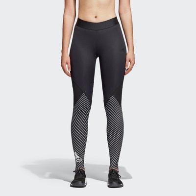Stripe Print Sports Leggings ADIDAS PERFORMANCE