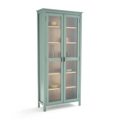 vitrine vaisselier pin massif alvina vitrine vaisselier pin massif alvina la redoute interieurs