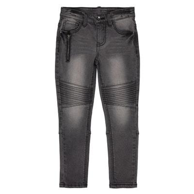 Jeans slim con tagli alle ginocchia 3 - 12 anni Jeans slim con tagli alle ginocchia 3 - 12 anni La Redoute Collections