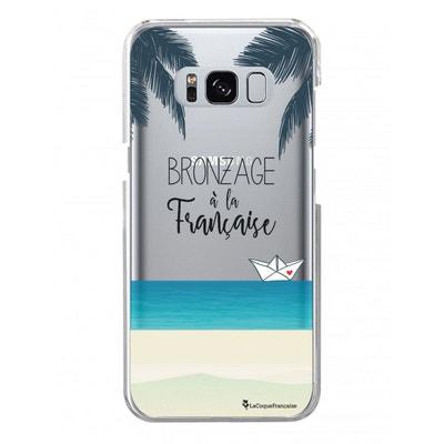 Coque Samsung Galaxy S8 Plus rigide transparente, Bronzage à la française, La Coque Francaise® Coque Samsung Galaxy S8 Plus rigide transparente, Bronzage à la française, La Coque Francaise® LA COQUE FRANCAISE