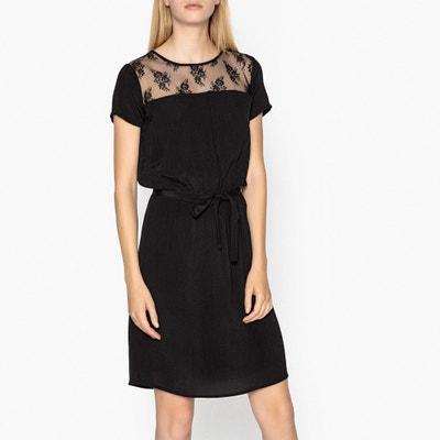 Kleid CHARLOTTE SATIN mit Spitze Kleid CHARLOTTE SATIN mit Spitze JOLIE JOLIE PETITE MENDIGOTE