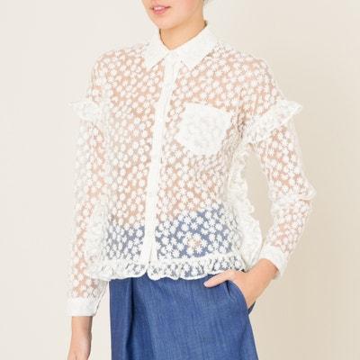 Camisa em tule bordado Camisa em tule bordado SISTER JANE
