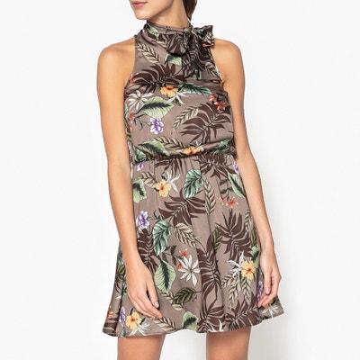 Ärmelloses Kleid mit bedruckter Schleife LIU JO