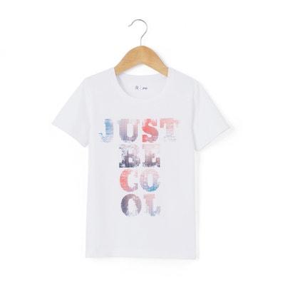 Camiseta estampada Just be cool 3-12 años La Redoute Collections