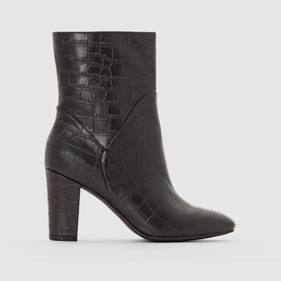 Boots effetto coccodrillo La Redoute Collections