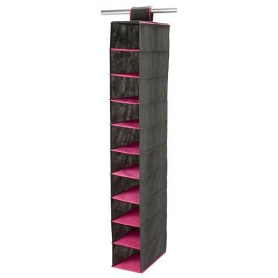 Organizzatore per armadio da appendere, 10 vani La Redoute Interieurs