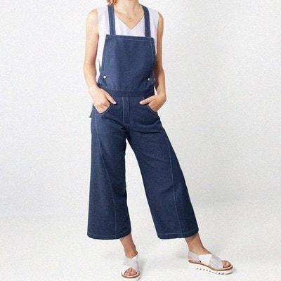 Salopette jeans dos nu Peny WYLDE