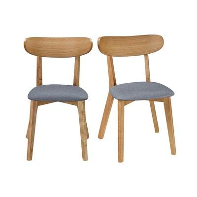 Chaise design vintage pieds (lot de 2) MARIK Chaise design vintage pieds (lot de 2) MARIK MILIBOO