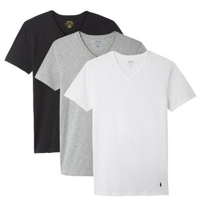 T-shirt col V, lot de 3 T-shirt col V, lot de 3 POLO RALPH LAUREN