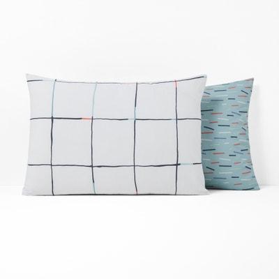 MIST Pure Cotton Percale Pillowcase MIST Pure Cotton Percale Pillowcase La Redoute Interieurs