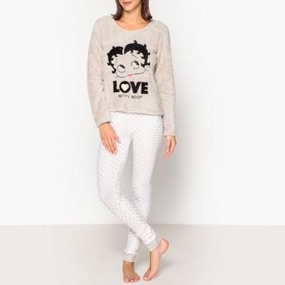 Pyjama Betty Boop, lange Ärmel Pyjama Betty Boop, lange Ärmel BETTY BOOP