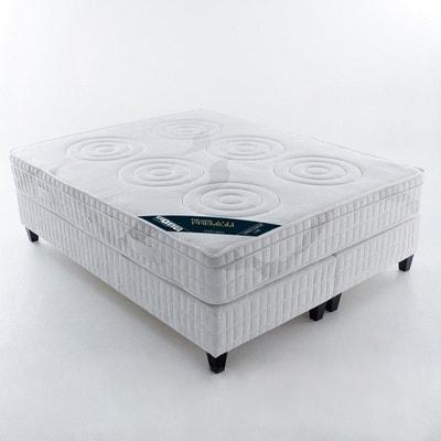 Matelas latex, confort luxe ferme 5 zones, avec surmatelas intégré REVERIE PREMIUM