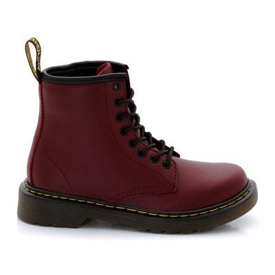Boots pelle Delaney Junior DR MARTENS