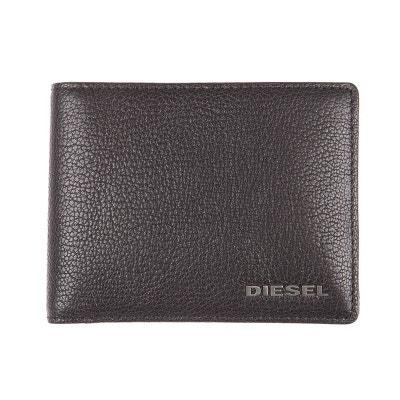 Portefeuille italien Hiresh S Diesel noir à motif étoile c4jnMTKF5