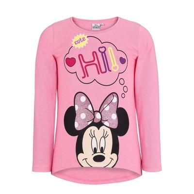 Tee shirt manche longue fille - Vêtements enfant 3-16 ans Disney ... 04a15d400f95